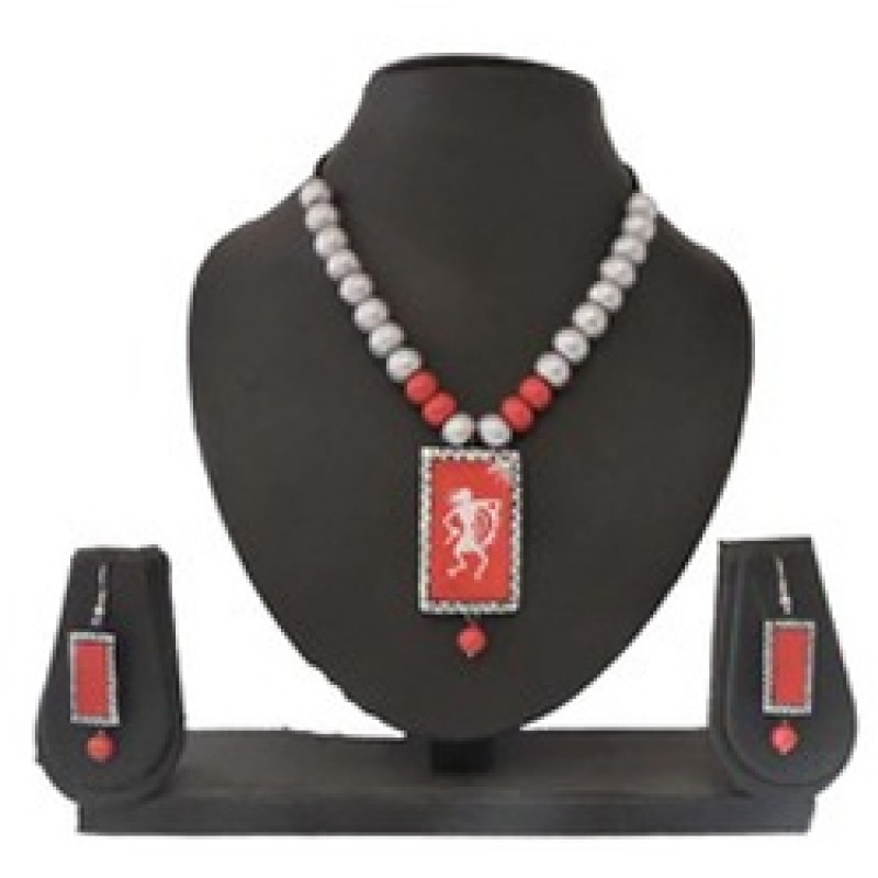 Terracotta Jewellery Necklace Set