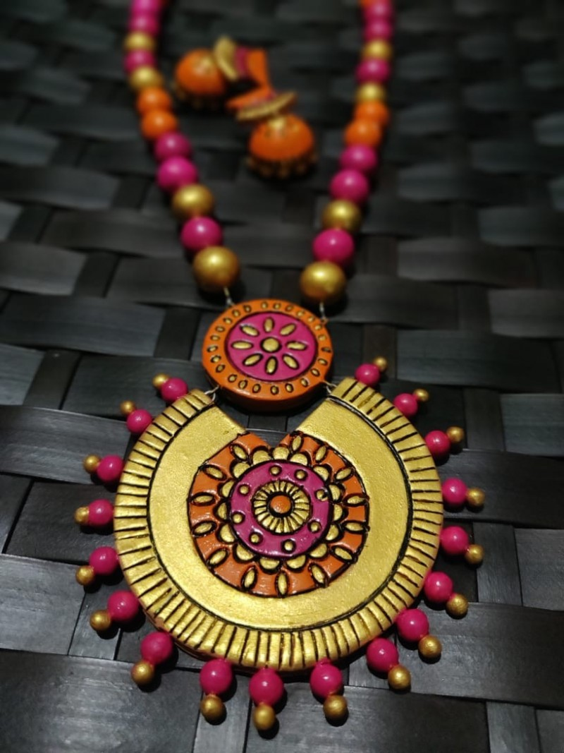 Pink Terracotta Jewellery