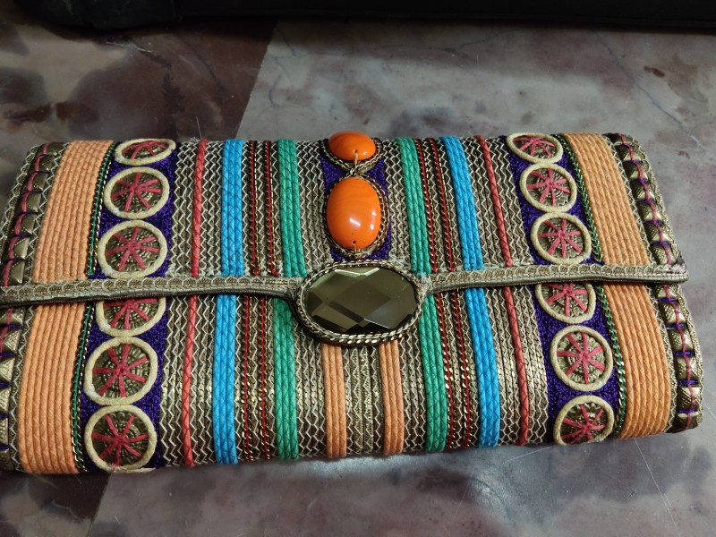 Full Hand Embroidery Purse